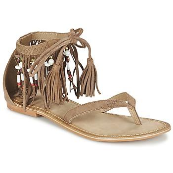 Chaussures Femme Sandales et Nu-pieds Vero Moda VMKAYA LEATHER SANDAL Cognac