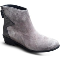 Chaussures Femme Low boots Reqins Boots BOMBAY Gris Gris
