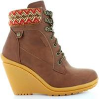 Chaussures Femme Bottines Refresh 61500 C MARRON Marrón