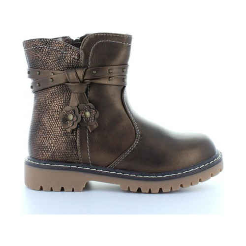 Chaussures Fille Boots Happy Bee B169120-B2512 Marrón