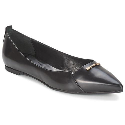 Chaussures Femme Ballerines / babies McQ Alexander McQueen 375371 Noir