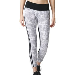 Vêtements Femme Leggings adidas Originals Collant imprimé 3S Essentials Gris