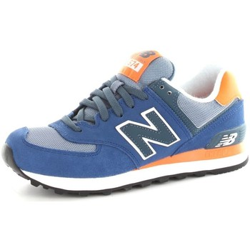 Chaussures Baskets basses New Balance WL574CPM Chaussures de sport Unisexe Blue orange Blue orange