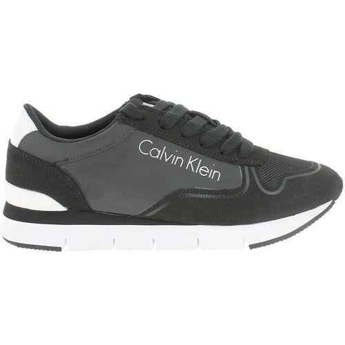 Chaussures Femme Baskets basses Calvin Klein Jeans re9382 noir