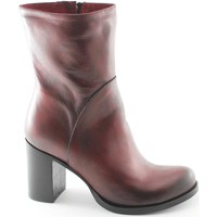 Chaussures Femme Bottines Divine Follie  Rosso