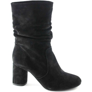 Chaussures Femme Bottines Divine Follie DIV-2412-NE Nero