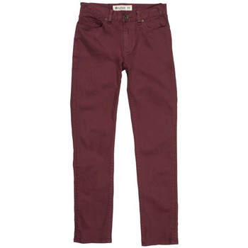 Vêtements Garçon Pantalons 5 poches Element Pantalon  Owen Pt Boy - Oxblood Red Rouge