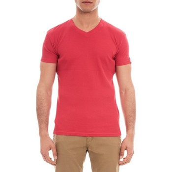 Vêtements Homme T-shirts & Polos Ritchie T-SHIRT V WILLIAM Rouge