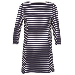Vêtements Femme Robes courtes Petit Bateau LESS Marine / Beige