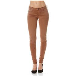 Vêtements Femme Jeans slim Le Temps des Cerises Jean Slim  Ultrapowe Rouille 28