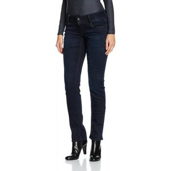 Vêtements Femme Jeans droit Le Temps des Cerises Jean  220 Hill Black/Blue 38