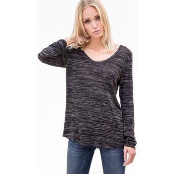 Vêtements Femme T-shirts manches longues Le Temps des Cerises T-Shirt manches longues  Hussein Black 38