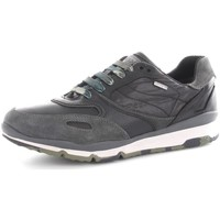 Chaussures Homme Baskets basses Geox U44S7A22FU Basket Homme Black/Anthracite Black/Anthracite