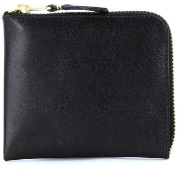 Sacs Femme Portefeuilles Comme Des Garcons Pochette rectangulaire  en cuir noir Noir