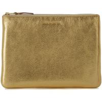 Sacs Femme Pochettes / Sacoches Comme Des Garcons Pochette Wallet Comme des Garçons en cuir or Or