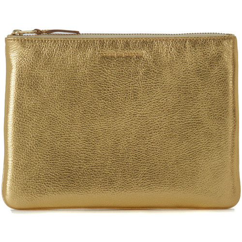 Sacs Femme Pochettes / Sacoches Comme Des Garcons Pochette Wallet Comme des Garçons en cuir or Doré