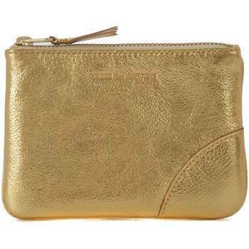 Sacs Portefeuilles Comme Des Garcons Pochette Wallet Comme des Garçons en cuir or Or