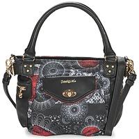 Sacs Femme Sacs porté main Desigual MCBEE MINI BARBADOS Noir / Gris / Rouge