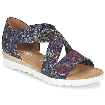 Chaussures Femme Sandales et Nu-pieds Gabor WOLETTE Bleu / Violet