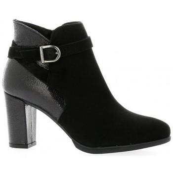 Chaussures Femme Bottines Reqins Boots Noir