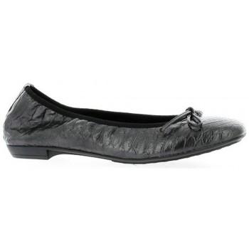 Chaussures Femme Ballerines / babies Elizabeth Stuart Ballerines cuir croco Noir