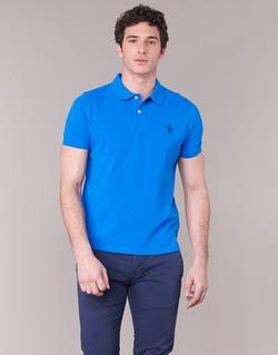 Vêtements Homme Polos manches courtes U.S Polo Assn. INSTITUTIONAL Bleu