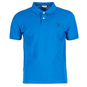 Vêtements Homme Polos manches courtes U.S Polo Assn. INSTITUTIONAL Bleu