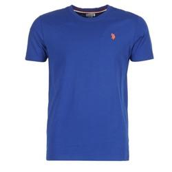 Vêtements Homme T-shirts manches courtes U.S Polo Assn. DBL HORSE Bleu