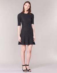 Vêtements Femme Robes courtes Loreak Mendian ZENIT Noir