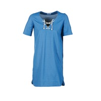 Vêtements Femme Robes courtes Loreak Mendian TXANGAI Bleu