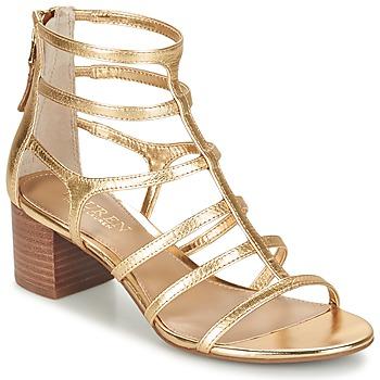 Chaussures Femme Sandales et Nu-pieds Ralph Lauren MADGE-SANDALS-DRESS Doré