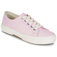 Chaussures Femme Baskets basses Lauren Ralph Lauren JOLIE-SNEAKERS-VULC Rose