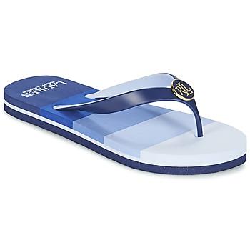 Chaussures Femme Tongs Ralph Lauren ELISSA-III-SANDALS-CASUAL Bleu
