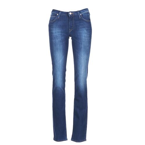 Vêtements Femme Jeans droit Lee MARION STRAIGHT Bleu Medium