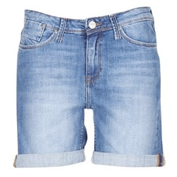 Vêtements Femme Shorts / Bermudas Lee BOYFRIEND SHORT Bleu Medium