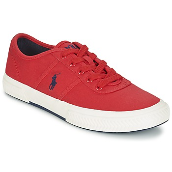 Chaussures Homme Baskets basses Ralph Lauren TYRIAN Rouge
