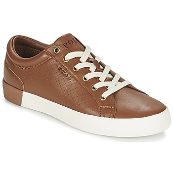 Chaussures Homme Baskets basses Ralph Lauren ALDRIC II Marron