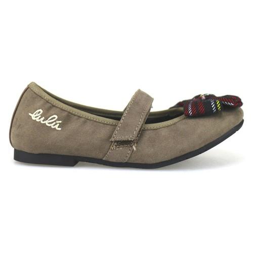 Chaussures Fille Ballerines / babies Lulu chaussures fille ' ballerines beige daim AH262 beige