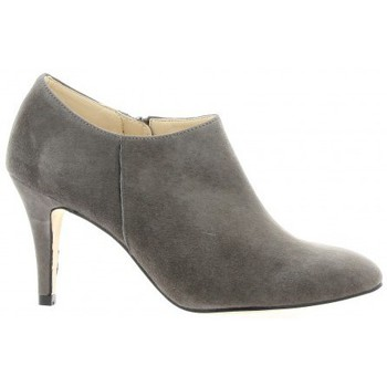 Chaussures Femme Low boots Exit Boots cuir velours Gris