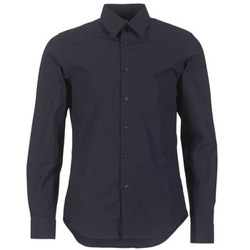 Vêtements Homme Chemises manches longues G-Star Raw CORE SUPER SLIM SHIRT Marine