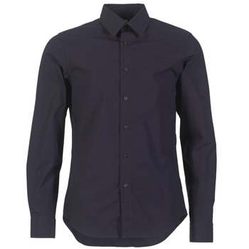 Vêtements Homme Chemises manches longues G-Star Raw CORE SHIRT Marine