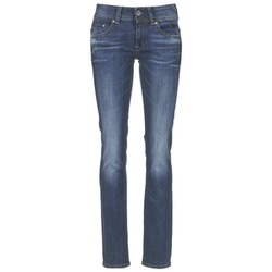 Vêtements Femme Jeans droit G-Star Raw MIDGE SADDLE MID STRAIGHT Denim