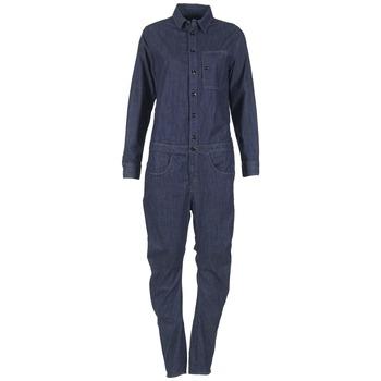 Vêtements Femme Combinaisons / Salopettes G-Star Raw STALT 3D Bleu Brut