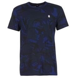 Vêtements Homme T-shirts manches courtes G-Star Raw HOYN Marine / Bleu