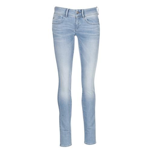 Vêtements Femme Jeans skinny G-Star Raw LYNN MID SKINNY Bleu Clair