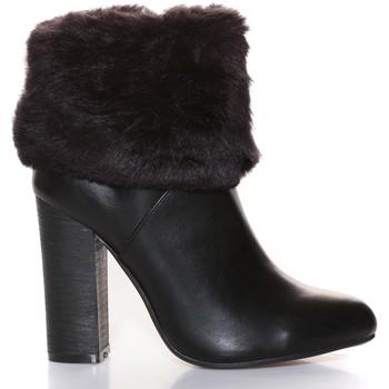 Chaussures Femme Bottines Cassis Côte D'azur Cassis Côte d' azur Bottine Wallace Noir Noir