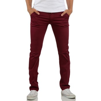 Chinos / Carrots Rerock Pantalon chino homme Chino 3334 rouge bordeaux