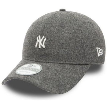 Casquettes New Era Casquette incurvée New Era NY Yankees MLB Wool 9Twenty Gris Fonc