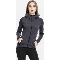 Vêtements Femme Sweats Urban Classics Sweat Sport Tech  Interlock Gris Foncé Charbon