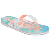 Chaussures Femme Tongs Superdry SUPERDRY AOP FLIP FLOP Rose